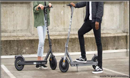 Scooter-for-good-commuting